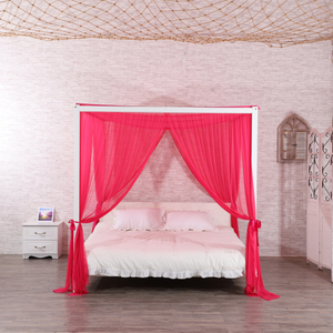 Popular Red Rose Home Hotel Adultos Dormitorio Cuadrado Rectangular Princesa Hanging Mosquitera