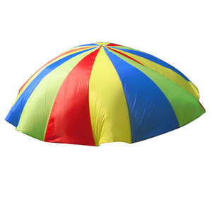 Rainbow Parachute Soft Toy Tents Plegable Kids Play Game Toy con asas